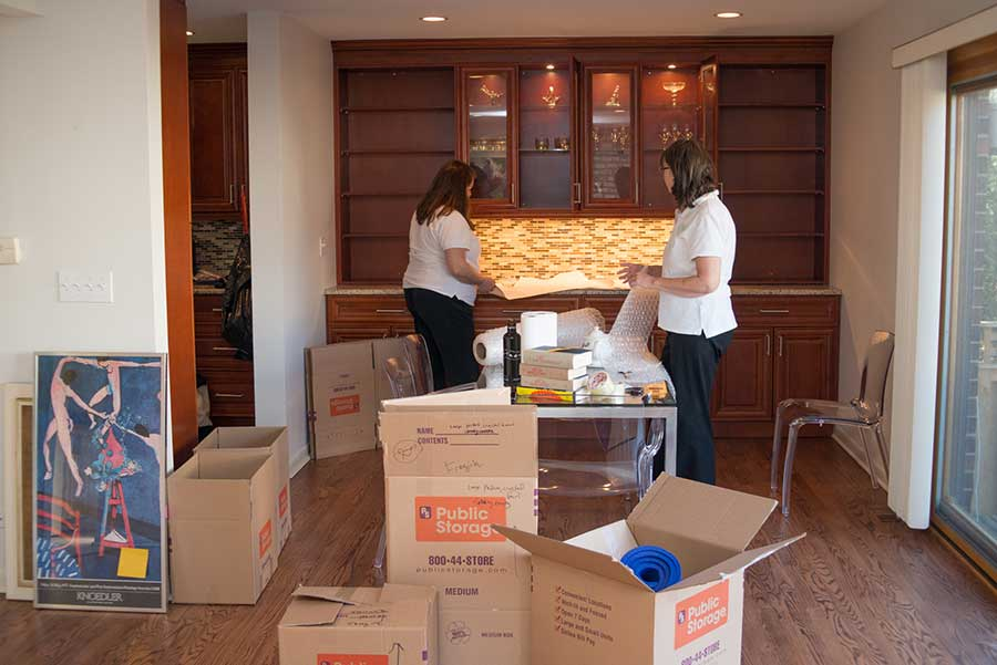 CMFTO Packing a Dining Room